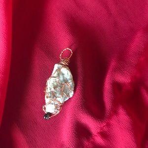 Jewelry - Amazonite Crystal Copper Pendant (Unisex)